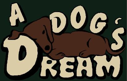 a dogs dream kennel logo, wilmington, nc